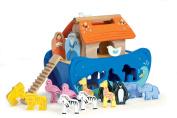 Le Toy Van Wooden Noah's Ark Shape Sorter