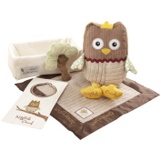 Baby Aspen BA11021NA My Little Night Owl Five-Piece Baby Gift Set