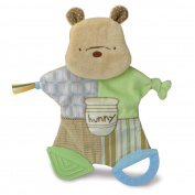 Kids Preferred Classic Pooh Flat Blankie Teether Toy