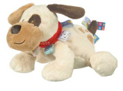 Mary Meyer Taggies Buddy Dog, Brown/White