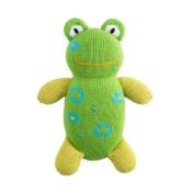 Fair Indigo Flop the Frog Organic Stuffed Animal
