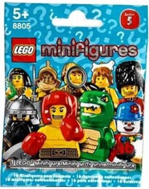 LEGO 8805 Minifigures Series 5