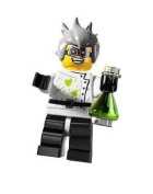 Lego Minifigure Series 4 Mad Scientist - Opned