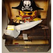 Lego Pirates Treasure Box with Pop up Pirate Captain