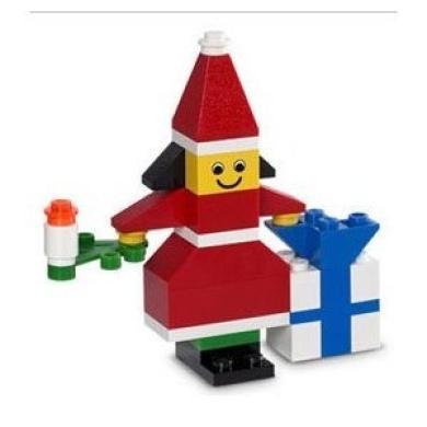 Lego Christmas Elf Girl #10166