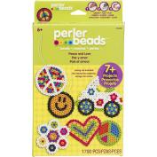 Perler Fun Fusion Fuse Bead Activity Kit-Peace & Love