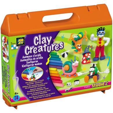 Diamant Studio 2 Chests Clay Creatures