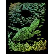Royal and Langnickel Rainbow Engraving Art, Sea Turtle