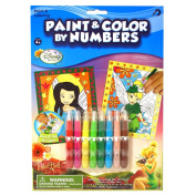 Disney Fairies Paint and Colour By Number
