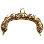 Darice Purse Frame, 8.9cm , Gold