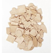 CHENILLE KRAFT COMPANY CK-369901 WOODEN SHAPES 350 PIECES