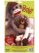 Janlynn Peejay Sock Monkey Kit 50cm .