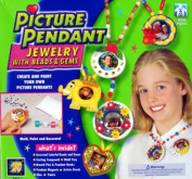Picture Pendant Jewellery with Bead and Gems Kit
