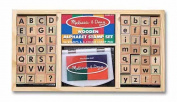 Melissa and Doug Alphabet Stamp Set