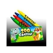 ~ 12 Boxes~ Crayons ~ Zoo Animal Box ~ 4 Per Box ~ NEW