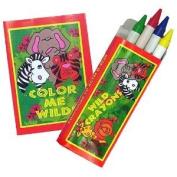 Zoo-Jungle Animal Colouring Sets