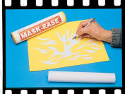 Scratch-Art Printmaking Mask-Ease