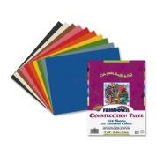 Rainbow Super Value Construction Paper, 10 Colour Assortment, 30cm x 46cm inches, 100 Sheets