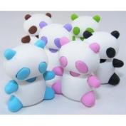 Iwako Japanese Panda Erasers - 6 pcs