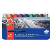 Caran D'ache - NeoColor II - 126 Assorted Water Soluble Wax Pastels