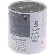 Armadillo Art and Craft Panpastel Ultra Soft Artist Pastel Extra Dark Shades Set, Shadows