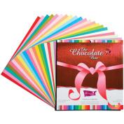 Core'dinations Chocolate Box Cardstock Pad 30cm x 30cm 20/Pkg-