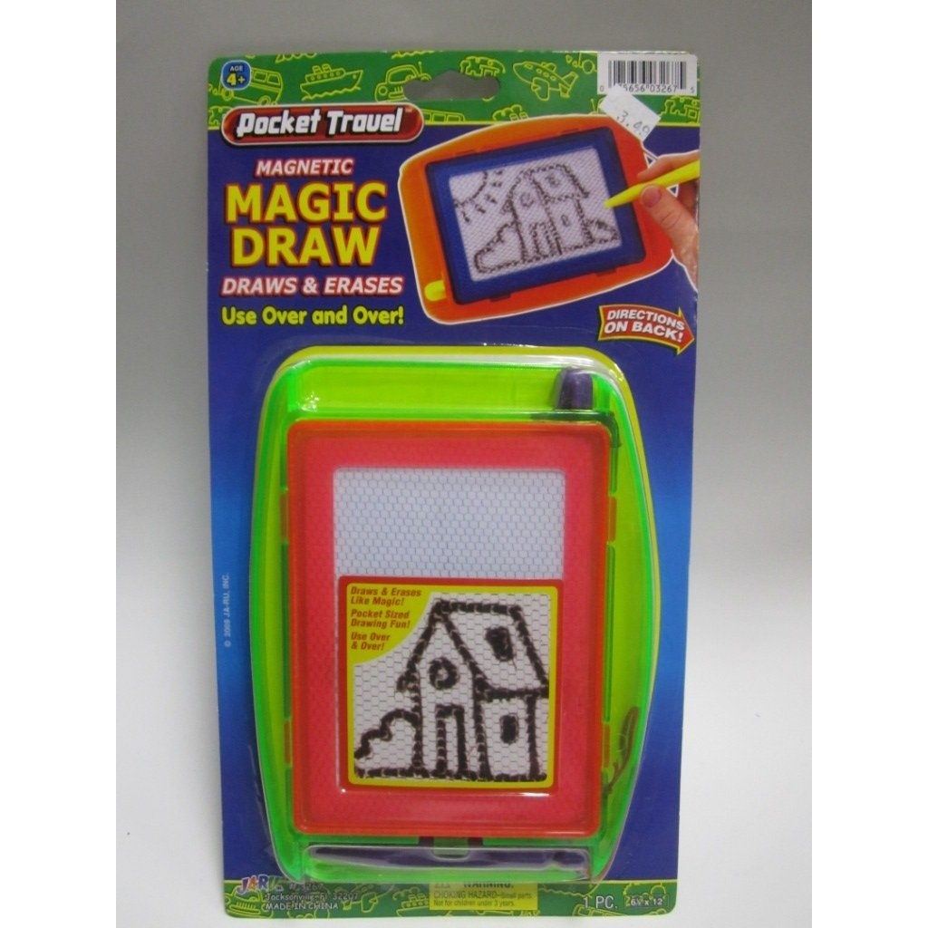 Pocket Travel Magnetic Magic Draw JR-3267 Colour & Design May Very