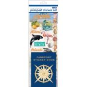 Passport or Scrapbooking Sticker Set-Florida #2