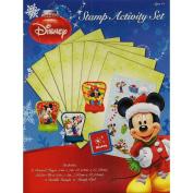 Disney Holiday Christmas Stamp Activity Set