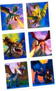 How To Train Your Dragon Party Stickers - Party Favours