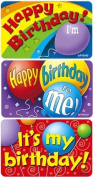 TREND ENTERPRISES INC. T-47303 APPLAUSE STICKERS BIRTHDAY TIME 30 PACK ACID-FREE LARGER SIZE