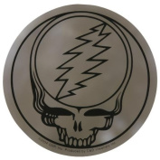 THE GRATEFUL DEAD STEAL YOUR FACE CHROME STICKER