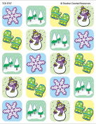 Teacher Created Resources Winter Season Stickers, Multi Colour