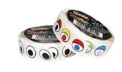 Wiggle Eyes Stickers On A Roll Blk