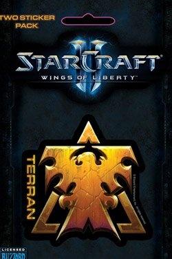 Starcraft II Wings of Liberty Terran Stickers