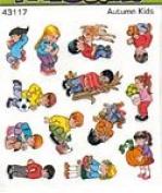 Autumn Kids Stickers (43117)