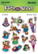 Winter Kids Stickers (01223)