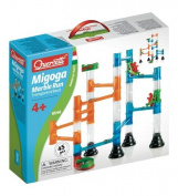 Quercetti 45-Piece Transparent Marble Run - Marble Run Construction Toy