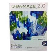 MindWare Q-Ba-Maze Marble Run Starter Set 2.0 - Cool Colours