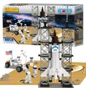 Best Lock BL70301 Space Shuttle 330 Piece Construction Toy