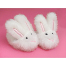 White Bunny Slippers. Fit 46cm Dolls like American Girl®