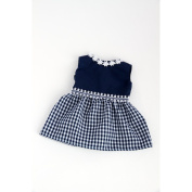 Saturday Afternoon - Navy Blue Dress (Shoes sold separately); fits 46cm American Girl dolls