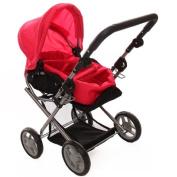 Doll Bassinet Stroller #9346 w/ FREE Carriage Bag