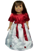 Elegant Doll Dress and Cape Complete Outfit for American Girl Dolls