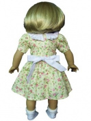 The Queens Treasure AGCPCO Doll Clothes for 18 in. American Girl Dolls - 1930s Pretty Cotton Doll Dress