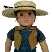 Rancho Fiesta Doll Dress Complete Outfit for American Girl 46cm Dolls