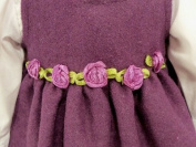 Purple Jumper Outfit for American Girl 46cm Dolls