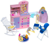 Barbie Happy Family Nursery Playset