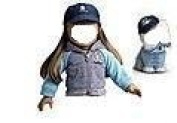 "American Girl ""Jacket & Cap Set"" for 46cm doll - NO doll or dog-"