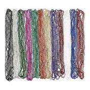 Metallic Beaded Necklaces